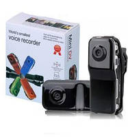 Мини камера DVR, регистратор МД-80, Экшн-камера Mini DX Camera DV (MD80, MD-80, МД80) Sil+box