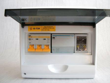 """Автоматика GAZDA G105-3-25 релейная """"Классика"""" для 3-фазных систем до 25 кВт, фото 2"""