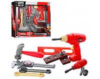 Детский набор инструментов tool set с дрелью