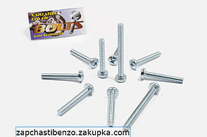 Болты крышки вариатора   Suzuki AD50   шестигранный шлиц 7шт