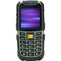 Противоударный и водостойкий телефон Nomi i242 X-treme на 2 сим-карты Black Green Orange