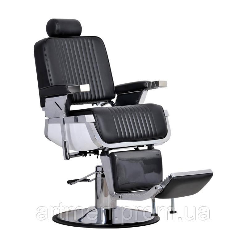 Кресло парикмахерское Barber black