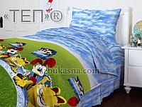 Подростковое постельное белье 950 «Гарфилд» ТМ ТЕП (Украина) Бязь полуторное