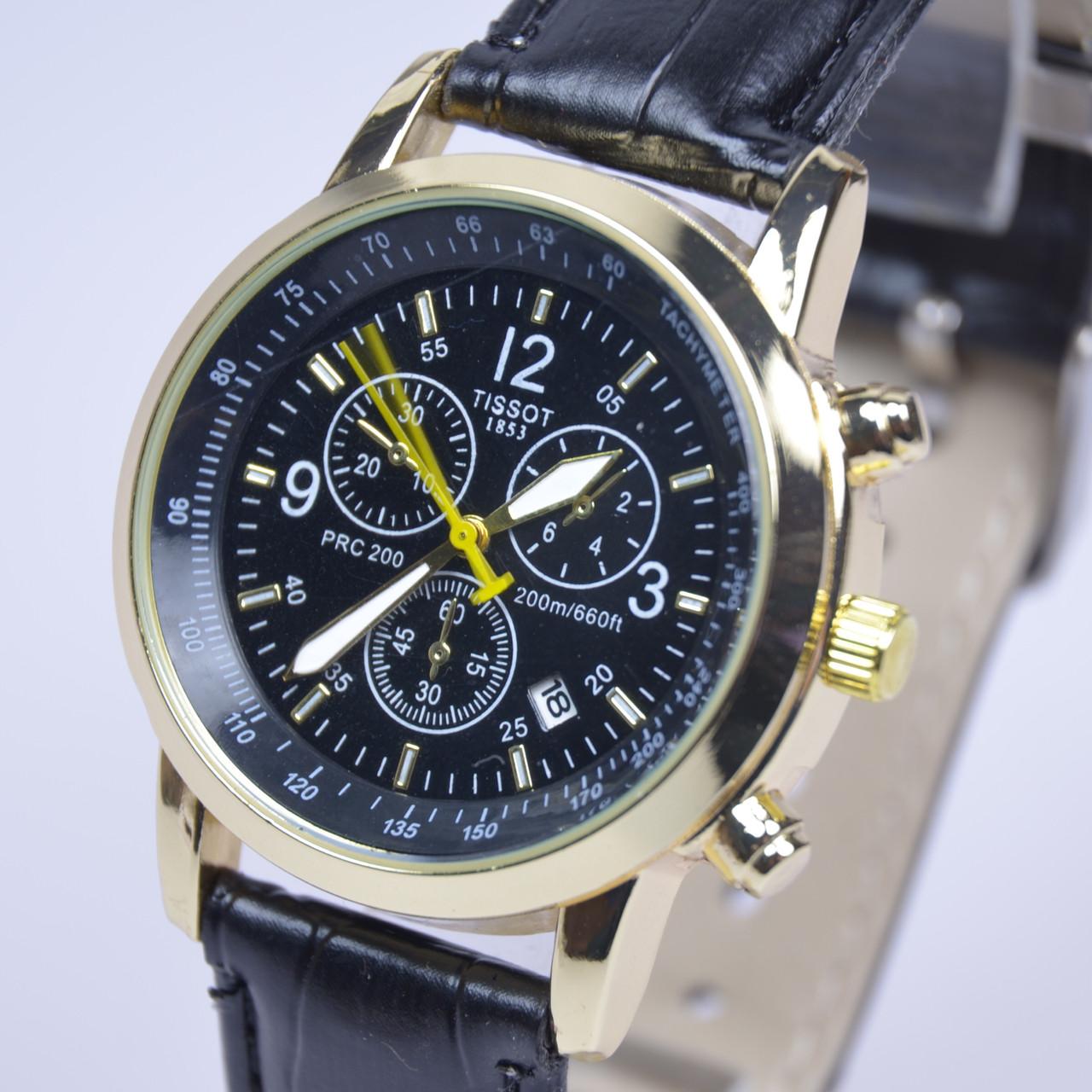 Мужские наручные часы TISSOT PRC200 T17 календарь копия