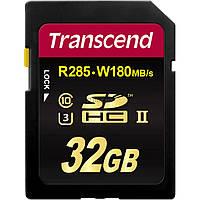 Карта памяти Transcend 32GB SDHC Class 10 UHS-II U3 (TS32GSD2U3)