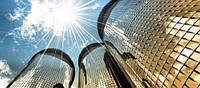 Архитектурная Зеркальная пленка Sun Control R Gold 15 шириной 1,83 м