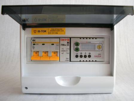 """Автоматика GAZDA G351-3-9 электромеханическая """"Люкс"""" для 3-фазных систем до 9 кВт, фото 2"""