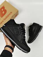 Зимние кроссовки New Balance 754 с мехом черные. Живое фото (Реплика ААА+) 63c068ed8f752