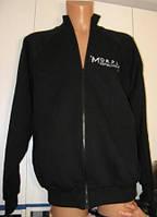 Кофта - олимпийка MORDEX для бодибилдинга черная  размер M