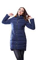 Куртка женская зимняя FINEBABYCAT 506 т.синий