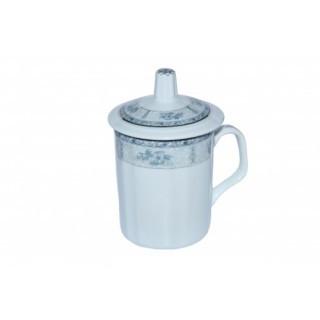 "Кружка с крышкой ""Мой чай"" 280 мл."