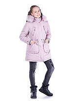 """Демисезонная и зимняя  куртка с отстегивающей подкладкой """"Синди """" , фото 3"""