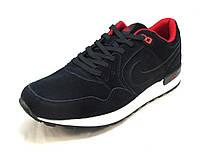 Кроссовки мужские  Nike   замшевые синие (р.42,43,44,45,46)