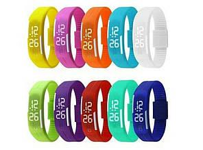 Часы силиконовые спортивные  Led Watch