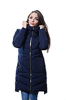 Куртка женская зимняя FINEBABYCAT 108 т.синий