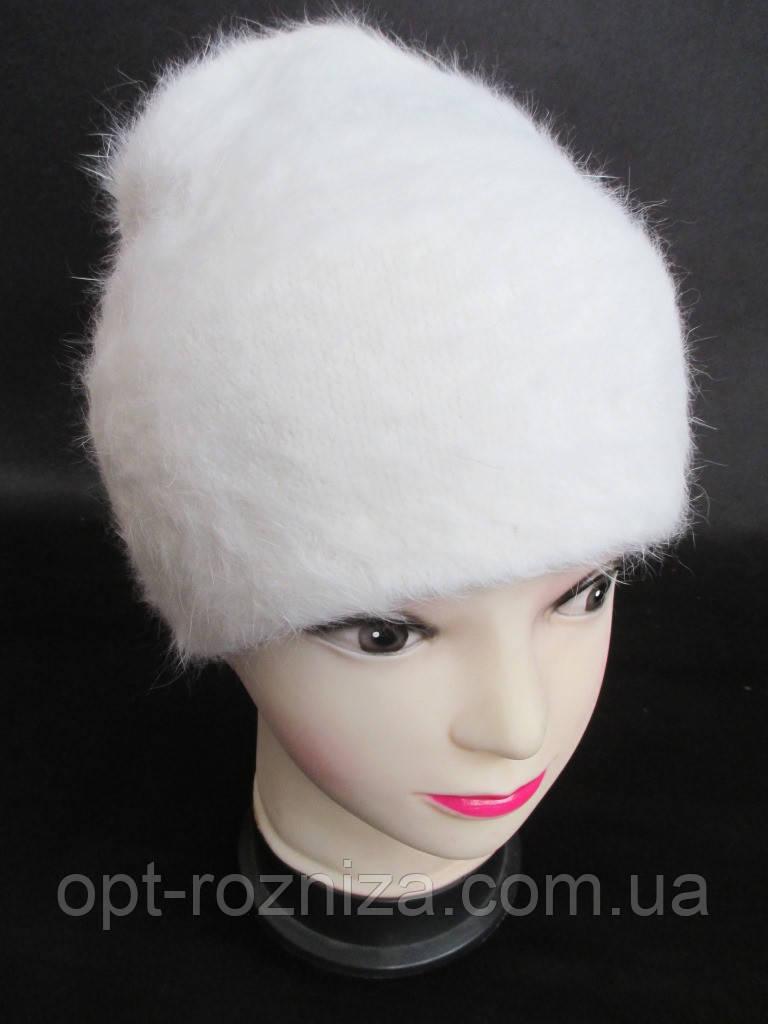 Ангоровые женские шапки на зиму купить