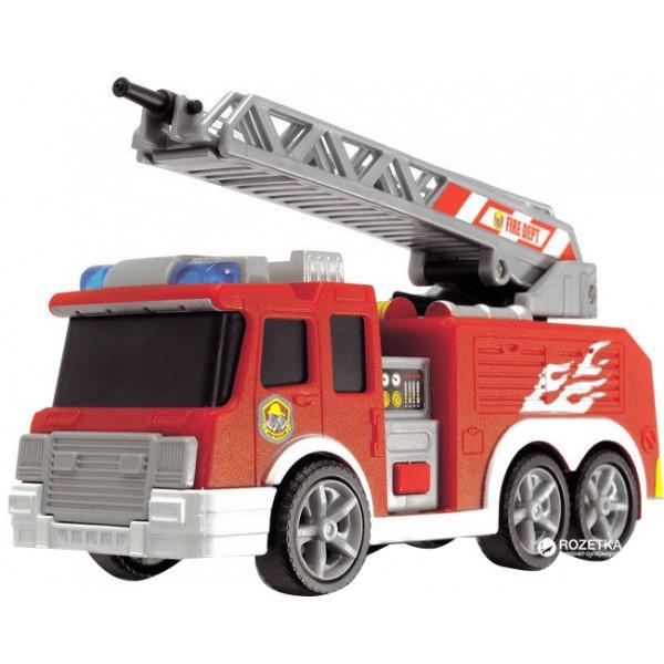 Функциональное авто Пожарный со щитом со световыми, звуковыми и водными эффектами 15 см 3302002