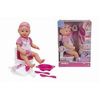 Кукольный набор Пупс NBB Уборная с аксессуарами 5032483