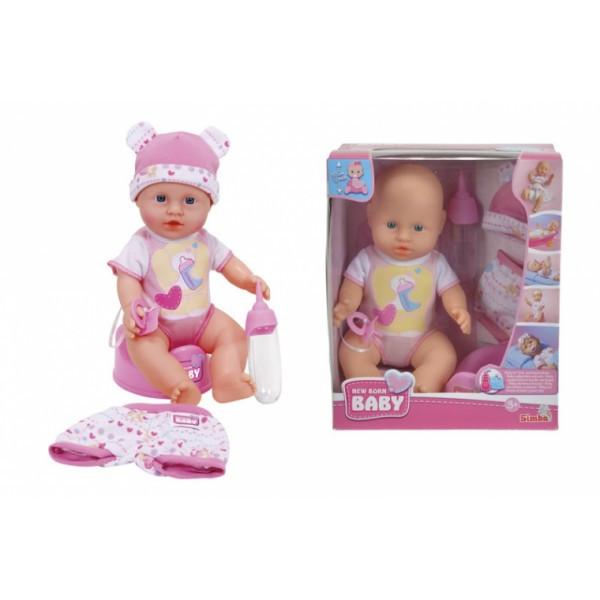 Кукольный набор Пупс NBB с одеждой и аксессуарами 30 см 5032485