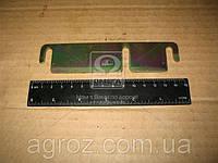 Пластина регулировочная ГАЗ 2705,3221 защелки стопора нижн. двери задка (пр-во ГАЗ) 2705-6305378