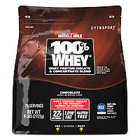 Американский Протеин Muscle Milk Cytosport Chocolate 100% Whey Protein Powder   2 722 грамм