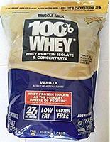 """Натуральный протеин для """"сухих"""" мышц, со вкусом ванили (Genuine Muscle Milk), Cytosport, Inc, 2722 г"""