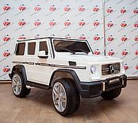 "Детский электромобиль Mercedes Brabus ""VIP"" G65 AMG (Лицензия), белый"