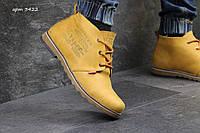 Чоловічі шкіряні зимові черевики Levis (3422)