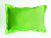 Подушка декоративная 60х40см. Зеленое яблоко декор.