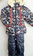 Детский зимний комплект (куртка+комбинезон)