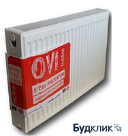 Стальной панельный радиатор 22К 500*1000 OVI (Украина)