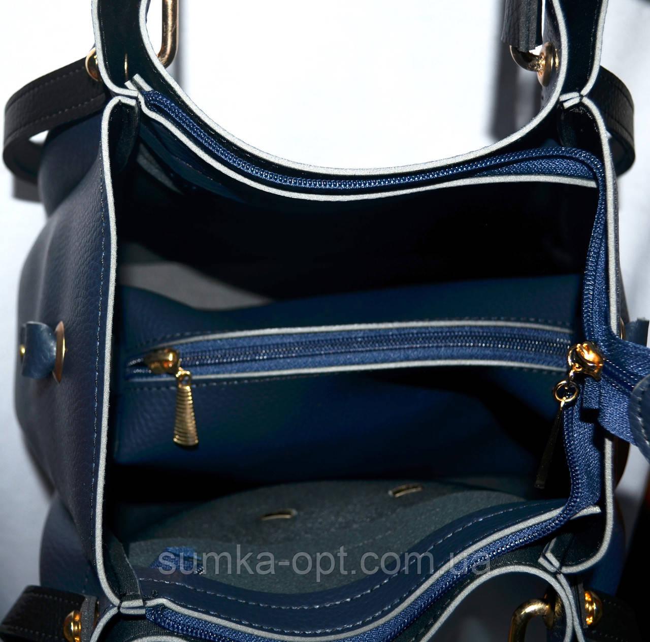 Женские сумки осень-зима +клатч 26 32 (серый)  продажа, цена в ... 783097dc8ef
