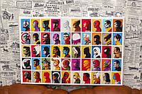 Герои Marvel Comics. 60х40 см. Принт на холсте