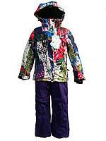 Детский горнолыжный костюм Snowest для девочки №628-2