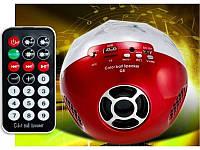 Цветомузыкальная колонка Bluetooth Color Ball Speaker Q8 с MP3 плеером.