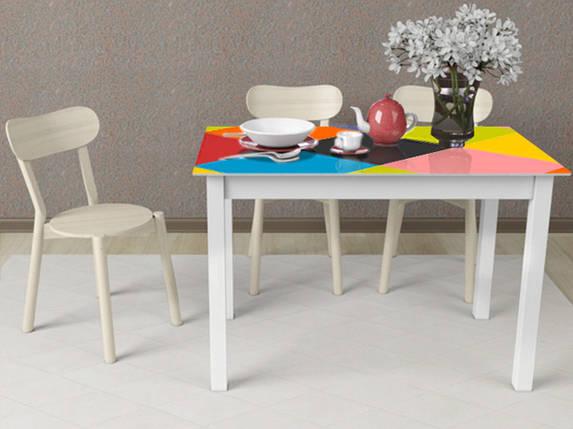 Стол деревянный MyTable-Art белый (Comfy Home TM), фото 2