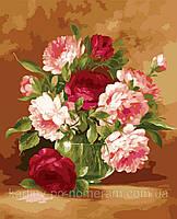 Картина по номерам на холсте KH1008 Праздничный букет худ Пинторе, Фасани (40 х 50 см) Идейка, фото 1