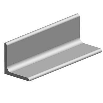 Уголок алюминиевый 80 мм 6060 Т6, фото 2