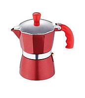 Кофеварка гейзерная Blaumann BL-1127 (150мл) (на 3 чашки)