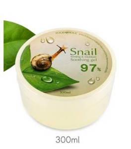 Универсальный улиточный гель Food a Holic snail firming & moisture soothing gel 97%, 300 мл