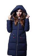 Куртка женская зимняя Meajiateer M17-102  Т.СИНИЙ