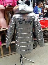 Зимняя курточка для девочки DISNEY серебро, фото 2