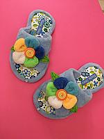Тапочки женские home Story мягкие и удобные ,39,41 размер (полноразмерные)