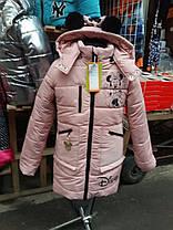 Зимняя курточка для девочки DISNEY серебро, фото 3