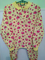 Пижама для девочки на байке