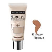 16MN00 Выравнивающий тональный крем Maybelline Affinitone 30 мл (скл.) В наличии №30,42