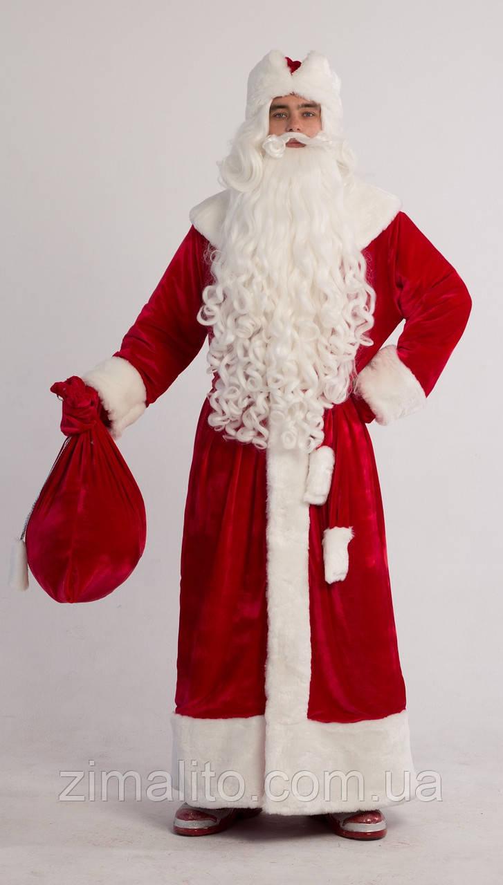 2b43a2747f6a Костюм Деда Мороза