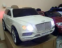 Детский электромобиль Джип Bentley JJ 2158 белый