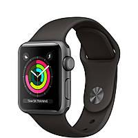 Смарт-часы Apple  Watch Series 3 (GPS) 38mm Space Gray Aluminum w. Gray Sport B. - Space Gray (MR352)