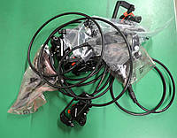 Гидравлические тормоза Shimano BR-M395 черные